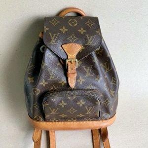 Authentic Louis Vuitton Montsouris Mini Backpack